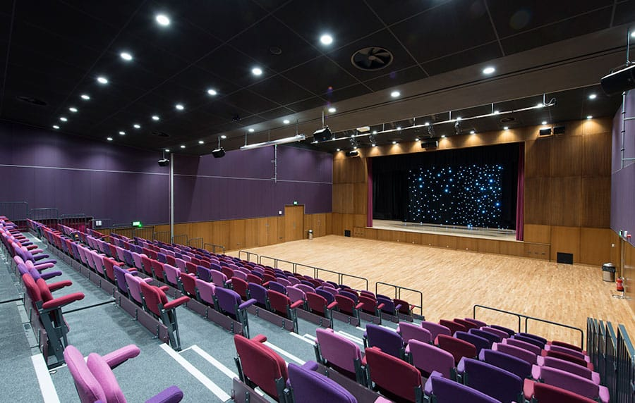 Theatre Seating at Northwich Memorial Court