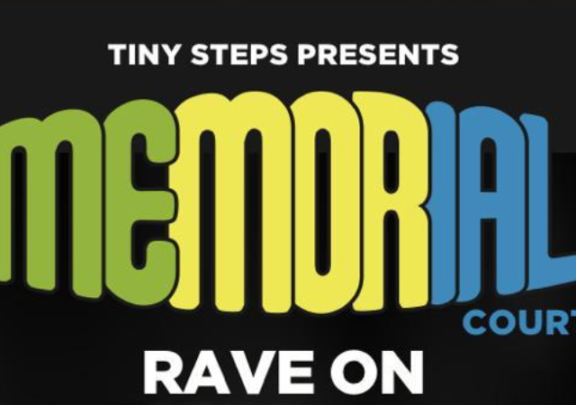 Tiny Steps Presents Memorial Court Rave On Featuring BEZ and Clint Boon